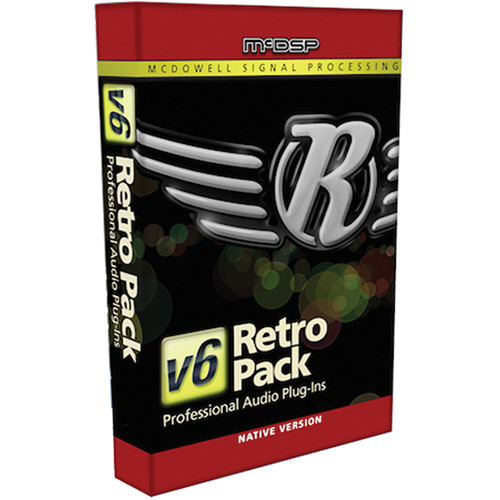 McDSP Retro Pack Native v6 - Vintage Styled EQ and Dynamics (Download)