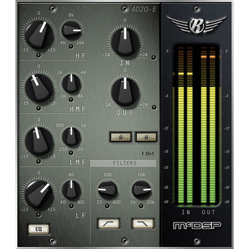 McDSP 4020 Retro EQ v6 - EQ and Filter Plug-In (HD, Download)