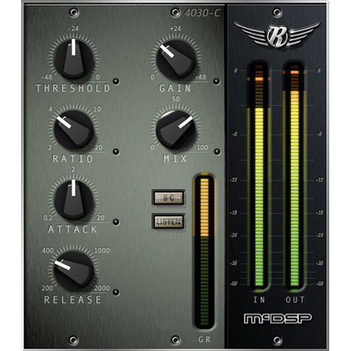 McDSP 4030 Retro Compressor v6 - Compressor Plug-In (Native, Download)