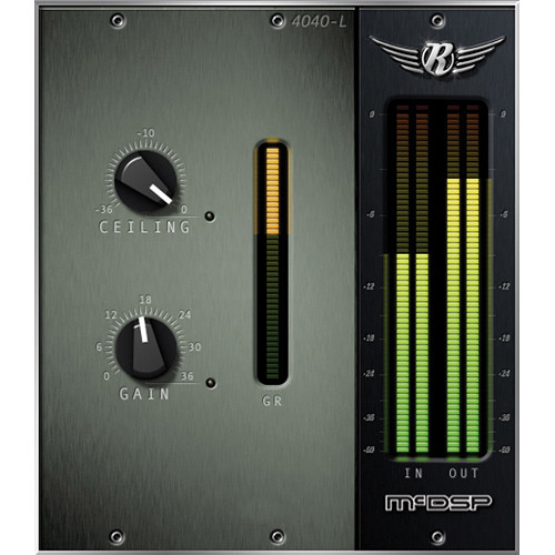 McDSP 4040 Retro Limiter v6 - Limiter Plug-In (Native, Download)