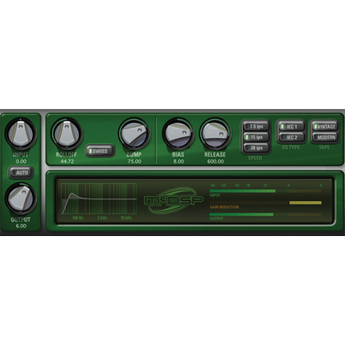 McDSP Analog Channel v6 - Analog Tape/Channel Emulation Plug-In (Native, Download)