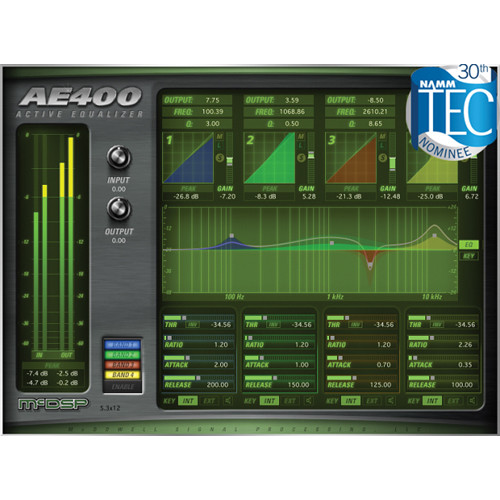 McDSP AE400 Active EQ v6 (HD, Download)