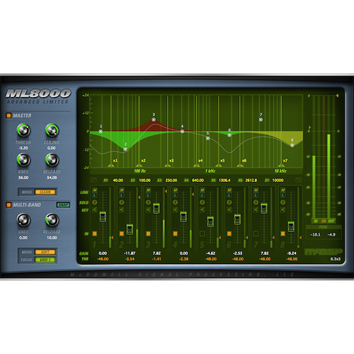 McDSP ML8000 Advanced Limiter V6 (Native, Download)