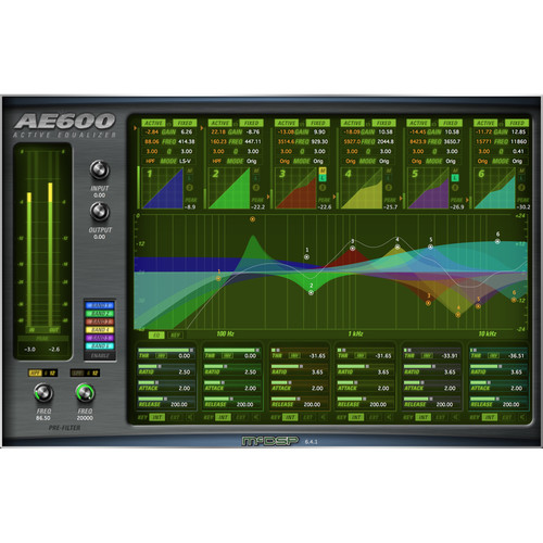 McDSP AE600 Active EQ V6 (HD, Download)