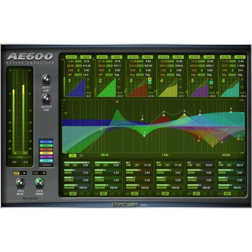 McDSP AE600 Active EQ V6 (Native, Download)