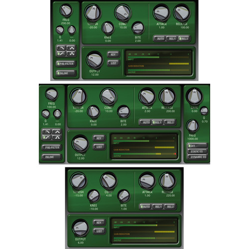 McDSP CompressorBank v6 (HD, Download)