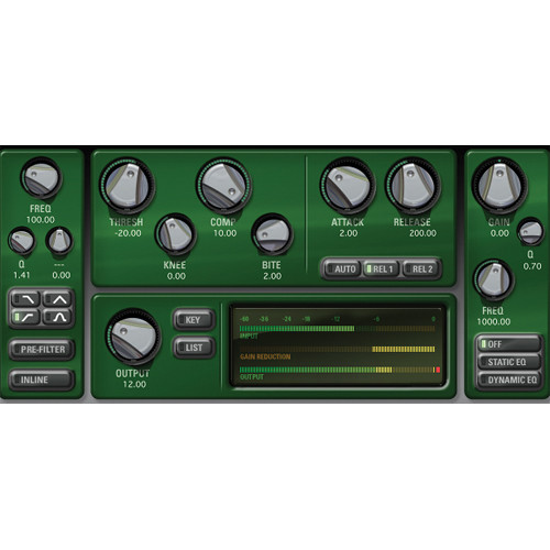 McDSP CompressorBank v6 (Native, Download)