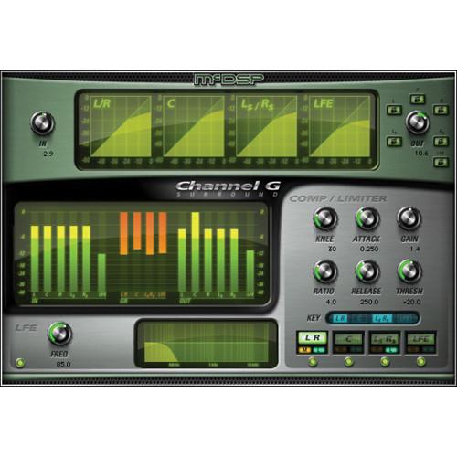 McDSP Channel G Surround v6 - Multichannel Dynamics Control Plug-In (Download)