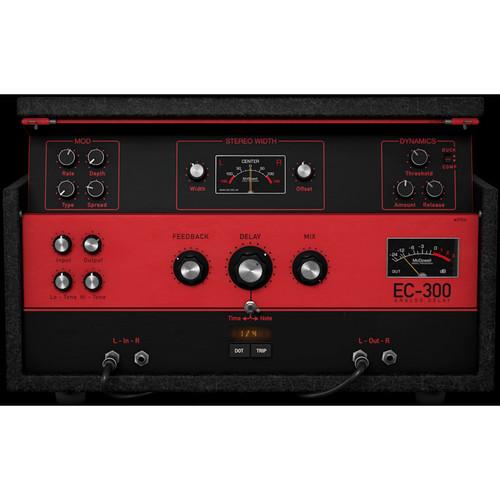 McDSP EC-300 Echo Collection Native - Delay Plug-In (Download)