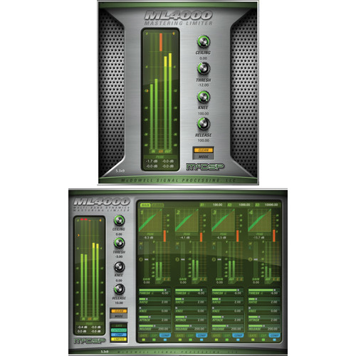 McDSP ML4000 v6 - Mastering Solution Plug-In (HD, Download)