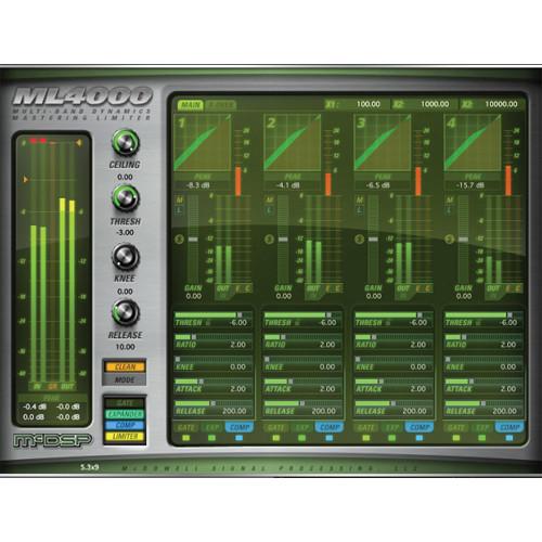 McDSP ML4000 v6 - Mastering Solution Plug-In (Native, Download)