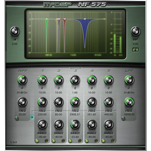 McDSP NF575 v6 Noise Filter - High Resolution Filter Set Plug-In (Native, Download)