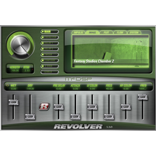 McDSP Revolver v6 Convolution Reverb Plug-In Native (Download)