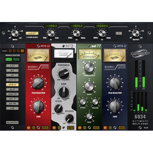 McDSP 6034 Ultimate Multi-Band Plug-In (HD, Download)