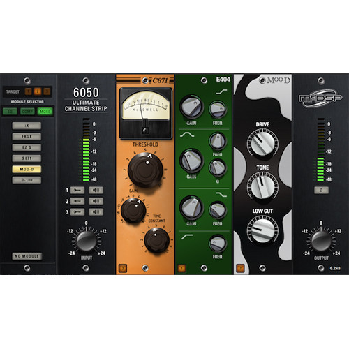 McDSP 6050 Ultimate Channel Strip Native V6 - Multiple Processing Modules Plug-In (Download)