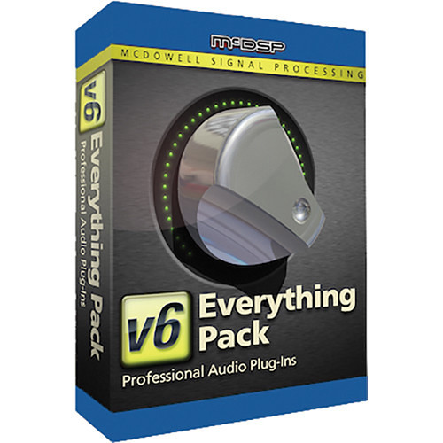 McDSP Any 6 Plug-Ins to Everything Pack v6.4 HD Upgrade (HD, Download)