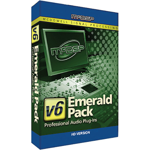 McDSP Emerald Pack HD v2 to v6 Upgrade - Music Production Plug-In Bundle (Download)