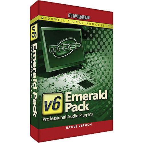 McDSP Emerald Pack Native v4 to v6 Upgrade - Music Production Plug-In Bundle (Download)