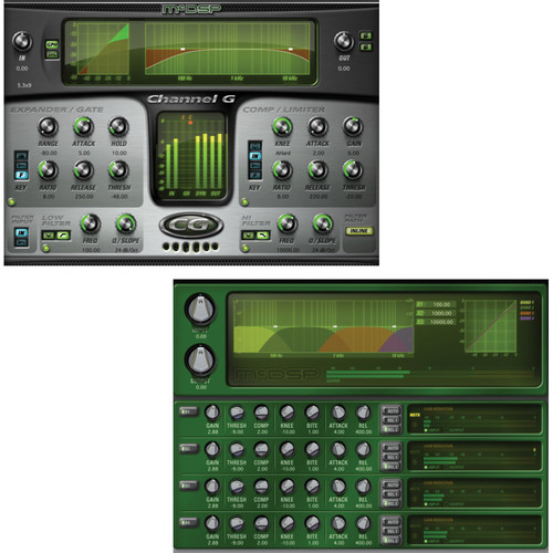 McDSP Massive Pack 4 - Channel G, & MC2000 Upgrade to HD v6 (Download)