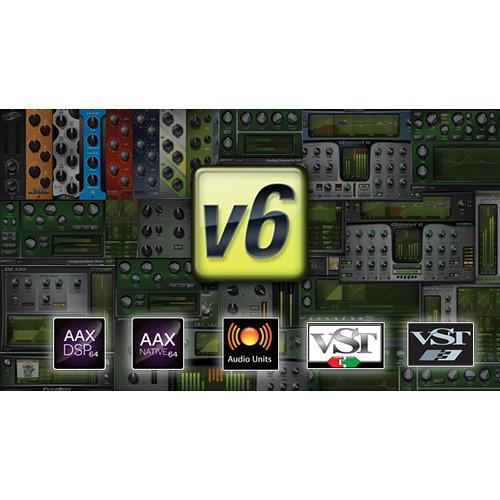 McDSP Project Studio Native v5 to Native v6 Upgrade - Music Production Plug-In Bundle (Download)