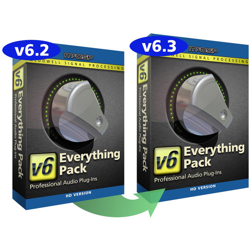 McDSP Everything Pack HD v6.2 to v6.3 Upgrade - Music Production Plug-In Bundle (Download)