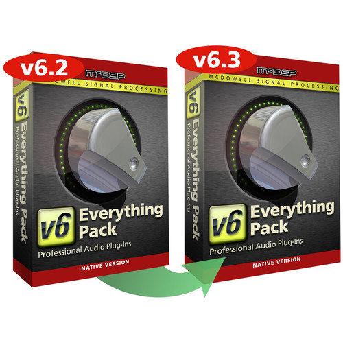 McDSP Everything Pack Native v6.2 to v6.3 Upgrade - Music Production Plug-In Bundle (Download)