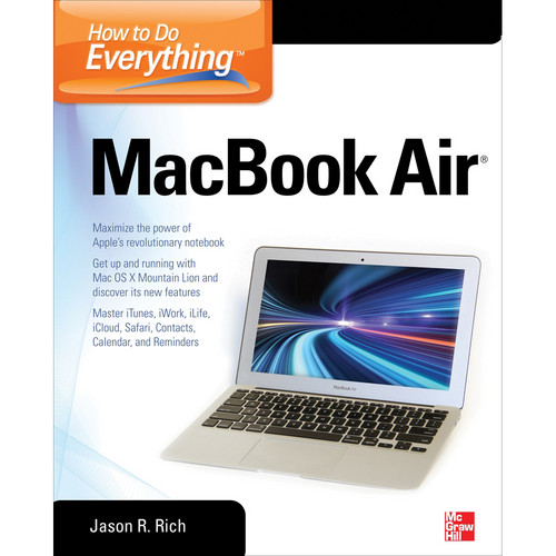 McGraw-Hill Book: How to Do Everything MacBook Air