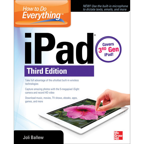 McGraw-Hill Book: How to Do Everything: iPad, 3rd ed.