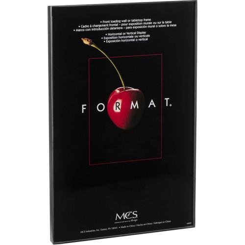 """MCS Format Frame (11 x 17"""", Black)"""