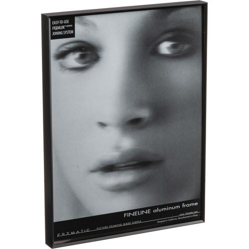 "MCS Framatic 18 x 24"" Fineline Aluminum Frame (Black)"
