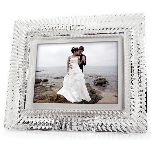 "MDI 8"" Waterford Crystal Digital Photo Frame"