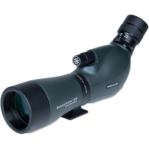 Meade 16-48x65 RangeView ED Spotting Scope (Angled Viewing)