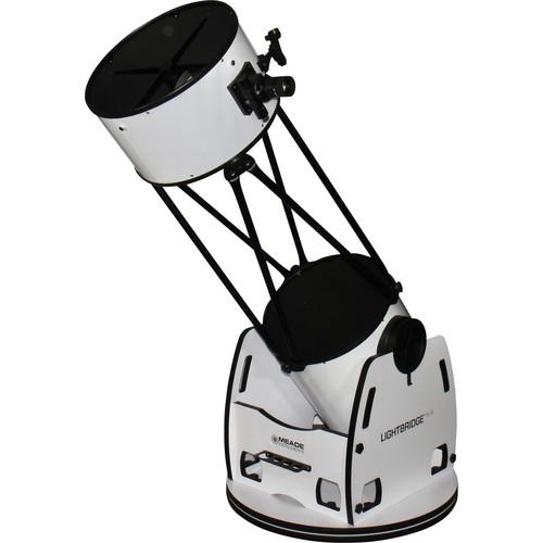 "Meade LightBridge Plus 16"" f/4.5 Truss-Tube AZ Dobsonian Telescope"