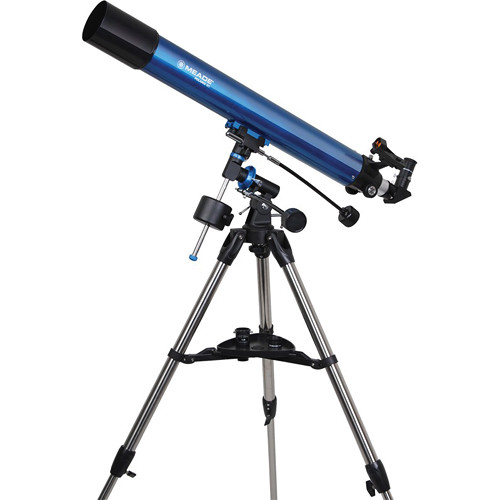 Meade Polaris 80mm f/11.3 Equatorial Refractor Telescope