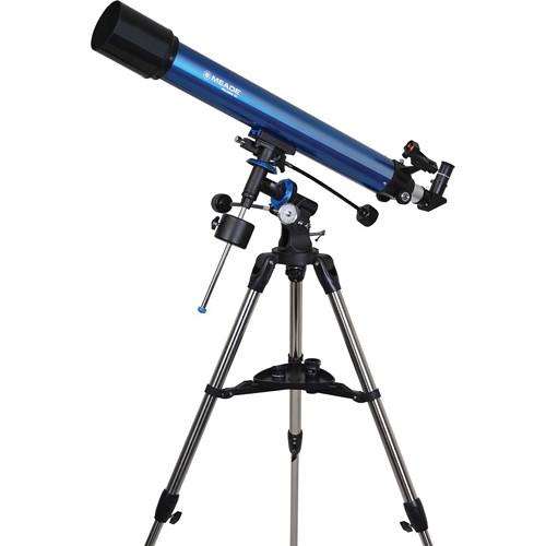 Meade Polaris 90mm f/10.0 Equatorial Refractor Telescope