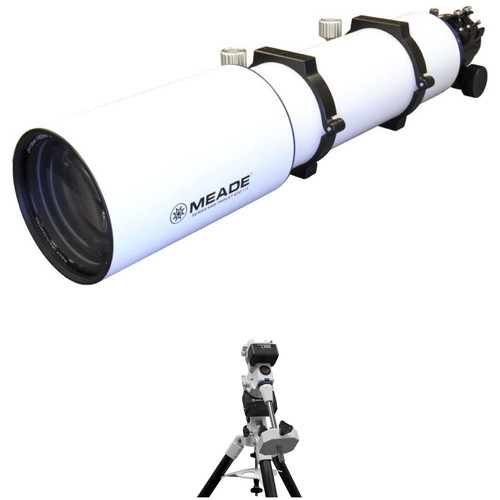 Meade LX85 115mm f/7 APO Refractor GoTo EQ Telescope