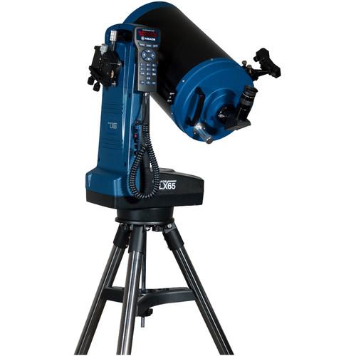 """Meade LX65 8"""" f/10 ACF Catadioptric GoTo Telescope"""