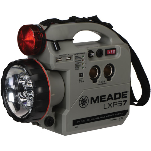 Meade PSLXPS7 12 VDC 7 Ah Power Supply