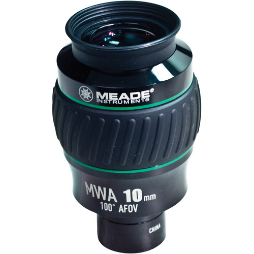 "Meade Series 5000 10mm Mega Wide Angle Eyepiece (1.25"")"