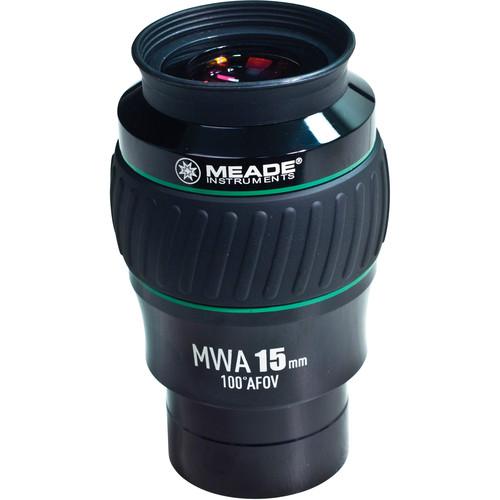 "Meade Series 5000 15mm Mega Wide Angle Eyepiece (2"")"