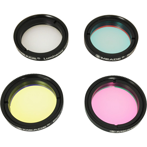 "Meade Series 6000 LRGB Imaging Filter Set (1.25"")"