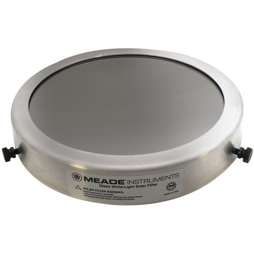 Meade #712 Glass White Light Solar Filter (181mm)