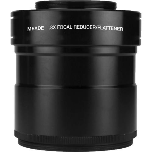 Meade Series 6000 0.8x Focal Reducer/Field Flattener for 80mm APO Refractors