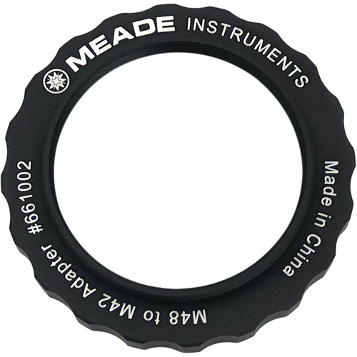 Meade Female M48 to Male M42 Reducer Adapter