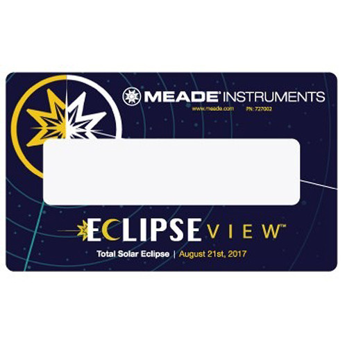 Meade EclipseView White-Light Solar Viewing Card (5-Pack)