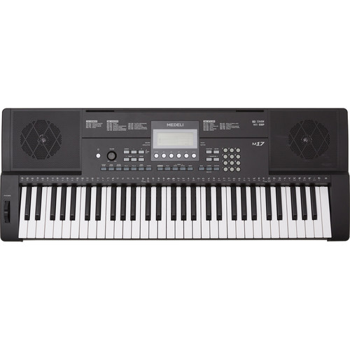 Medeli Electronics M17 61-Key Portable Keyboard with Touch Response