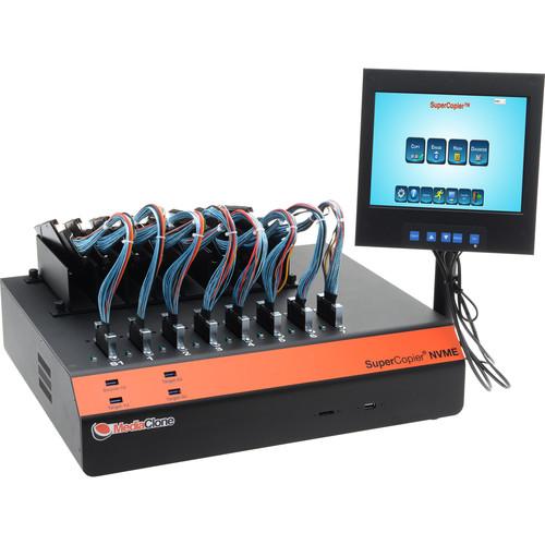 MediaClone SuperCopier Desktop Drive Duplicator with 8 x NVMe Ports