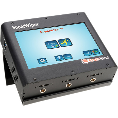 MediaClone Superwiper 7 Portable Secure Hard Drive Eraser