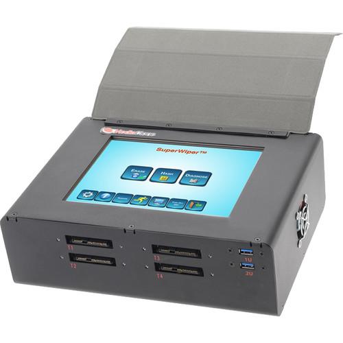 MediaClone SuperWiper 8 T3 SAS/SATA Erase Field Unit with SAS/SATA-3 / USB 3.0 Ports & SAS Controller