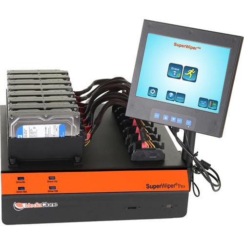 MediaClone SuperWiper Desktop PRO Gen 2 Multi Drive Eraser